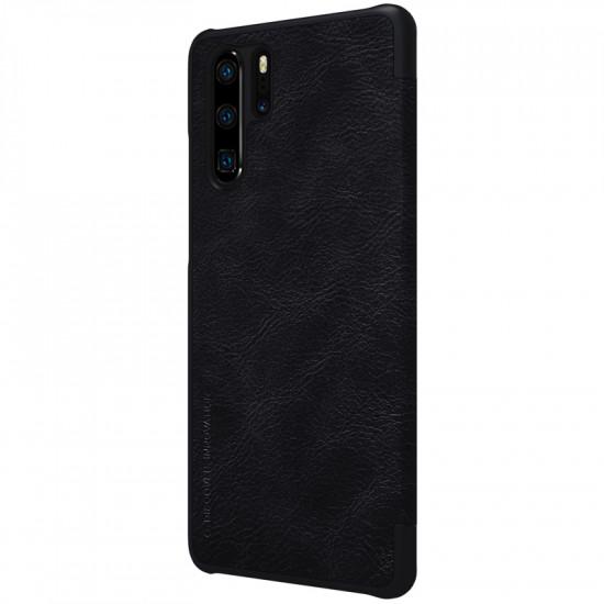 Nillkin Huawei P30 Pro Qin Leather Flip Book Case Θήκη Βιβλίο - Black
