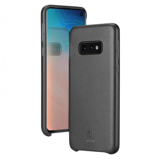 Dux Ducis Samsung Galaxy S10e Skin Lite Series Θήκη PU Leather - Black