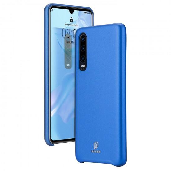 Dux Ducis Huawei P30 Skin Lite Series Θήκη PU Leather - Blue