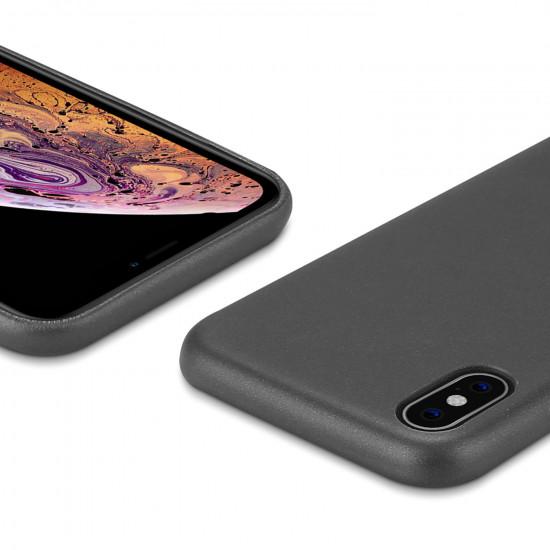 Dux Ducis Apple iPhone XS Max Skin Lite Series Θήκη PU Leather - Black