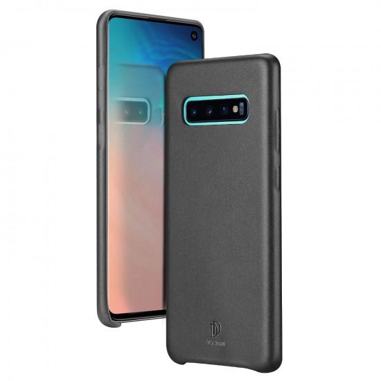Dux Ducis Samsung Galaxy S10 Skin Lite Series Θήκη PU Leather - Black