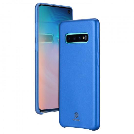 Dux Ducis Samsung Galaxy S10 Skin Lite Series Θήκη PU Leather - Blue