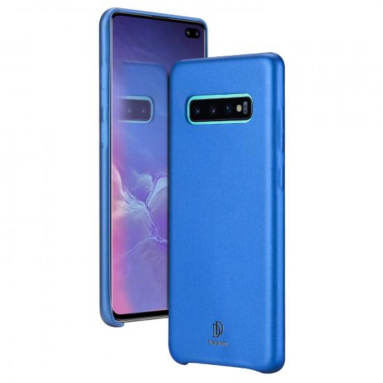 Dux Ducis Samsung Galaxy S10 Plus Skin Lite Series Θήκη PU Leather - Blue