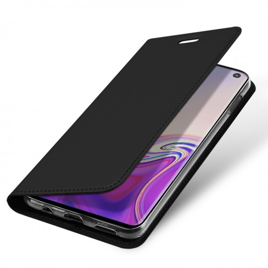 Dux Ducis Samsung Galaxy S10e Flip Stand Case Θήκη Βιβλίο - Black