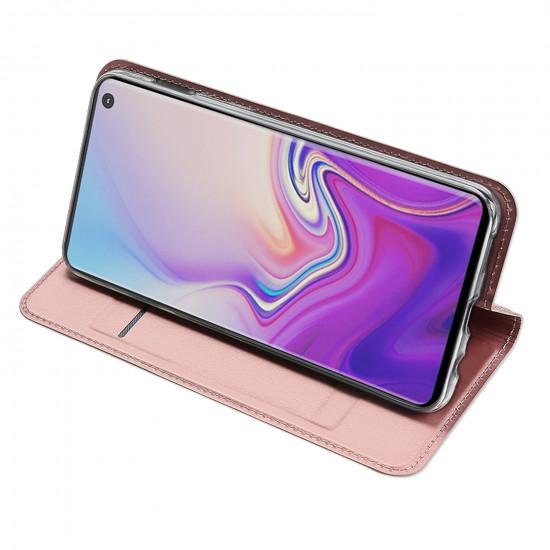 Dux Ducis Samsung Galaxy S10e Flip Stand Case Θήκη Βιβλίο - Rose Gold
