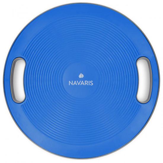 Navaris Balance Board Σανίδα Ισορροπίας - 40cm - Blue - 44181.04