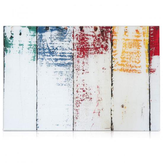 Navaris Μαγνητικός Γυάλινος Πίνακας - 90x60cm - Design Painted Wood - 45723.05