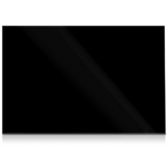 Navaris Μαγνητικός Γυάλινος Πίνακας - 90x60cm - Black - 46333.01