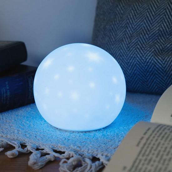 Navaris Φως Νυκτός LED με Micro USB και Αστρική Προβολή - 47986.01