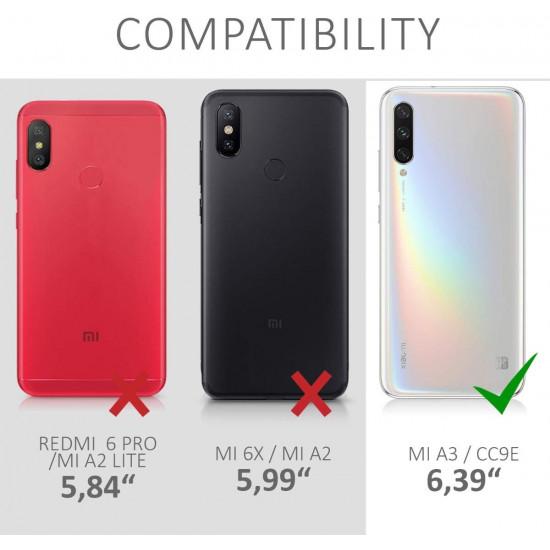 KW Xiaomi Mi A3 Θήκη από Φελλό Cork - Brown - 49686.24