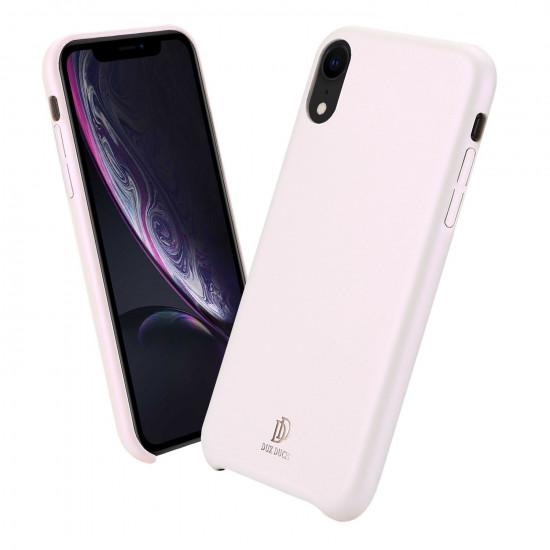 Dux Ducis Apple iPhone XR Skin Lite Series Θήκη PU Leather - Rose Gold