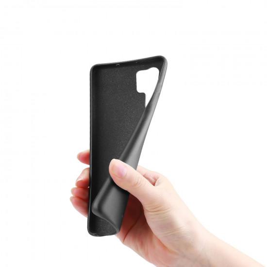 Dux Ducis Samsung Galaxy Note 10 Plus Skin Lite Series Θήκη PU Leather - Black