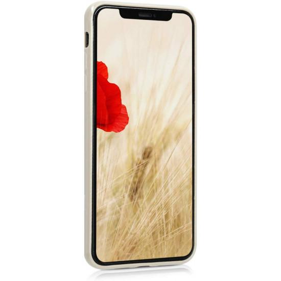 KW Apple iPhone XS Max Θήκη Σιλικόνης TPU - Beige Matte - 45908.96