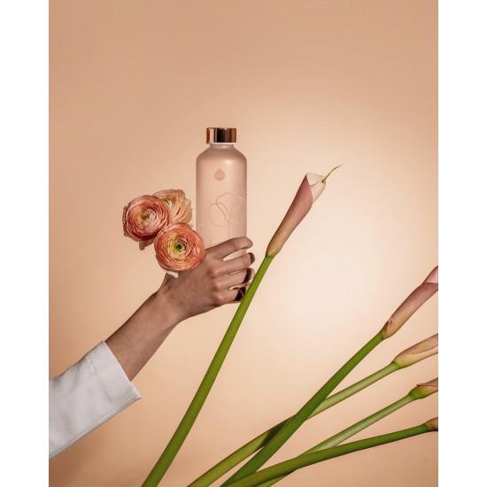 Equa Mismatch Γυάλινο Μπουκάλι Νερού - 750ml - Bloom / Διάφανο