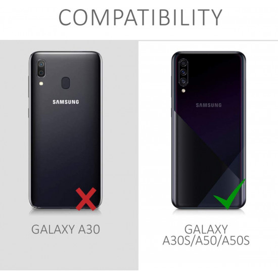 KW Samsung Galaxy A50 / A30S Θήκη Σιλικόνης Rubber TPU - Coral Matte - 48715.56