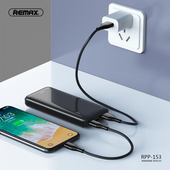 Remax RPP-153 Power Bank 10000mAh 2A - Black
