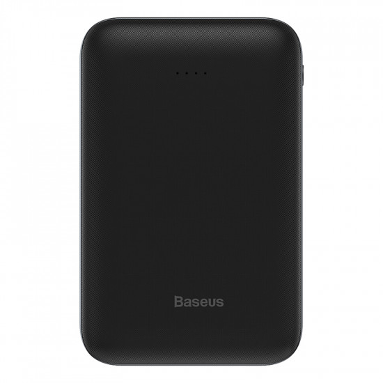 Baseus Mini Ja Power Bank 10000mAh 2.1A with Type C Input - Black - PPJAN-A01