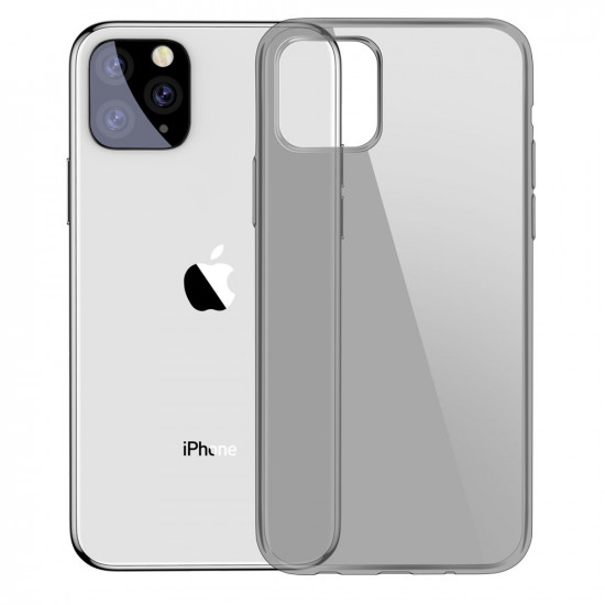 Baseus Simple Series TPU Case for Apple iPhone 11 Pro Max - Black - ARAPIPH65S-01