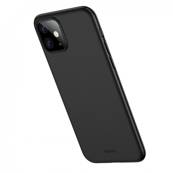 Baseus Apple iPhone 11 Ultra Thin Lightweight Wing PP Case - Black - WIAPIPH61S-A01