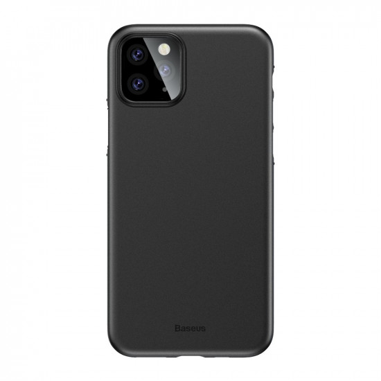 Baseus Apple iPhone 11 Pro Max Ultra Thin Lightweight Wing PP Case - Black - WIAPIPH65S-A01
