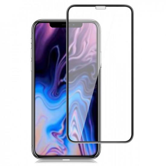 Blue Star Apple iPhone 11 Pro Max / XS Max 0.33mm 5D 9H Full Screen Tempered Glass Αντιχαρακτικό Γυαλί Οθόνης - Black