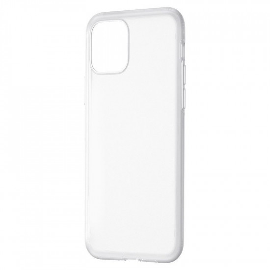 Baseus Apple iPhone 11 Jelly Liquid Silica Gel Θήκη Σιλικόνης - White / Διάφανη - WIAPIPH61S-GD02