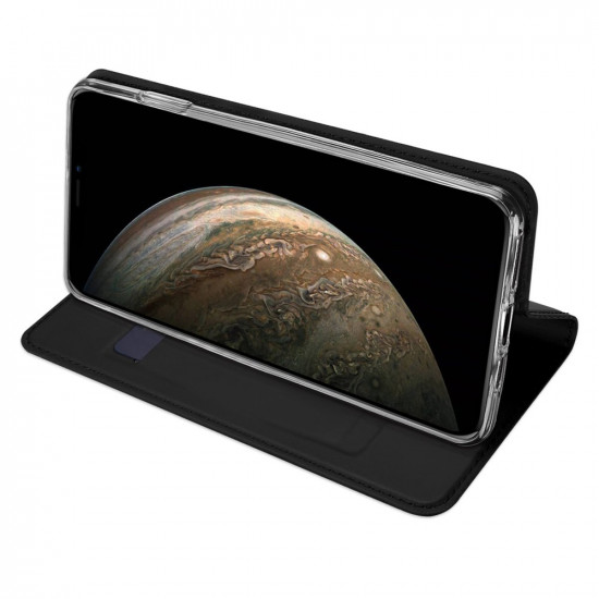 Dux Ducis Apple iPhone 11 Pro Flip Stand Case Θήκη Βιβλίο - Black