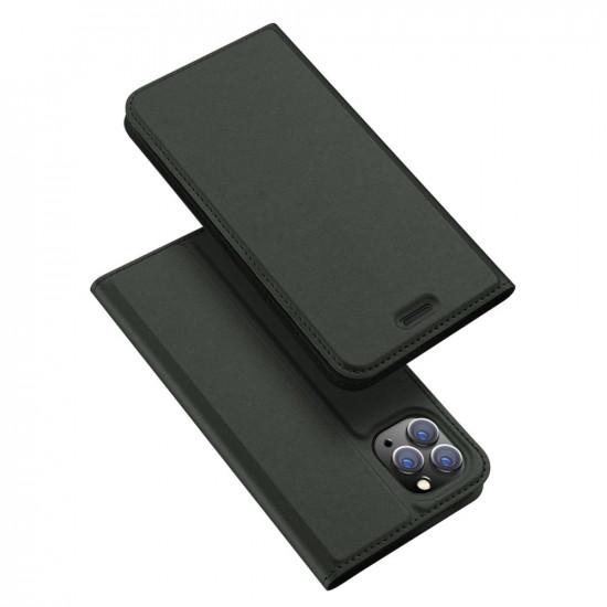Dux Ducis Apple iPhone 11 Pro Max Flip Stand Case Θήκη Βιβλίο - Green