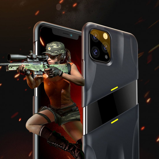 Baseus Apple iPhone 11 Pro Let's go Airflow Cooling Game Σκληρή Θήκη με Σύστημα Ψύξης - Grey - WIAPIPH58S-GMGY