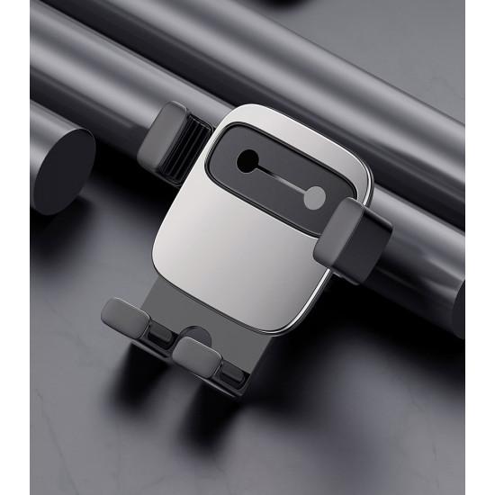Baseus Cube Gravity Car Air Vent Mobile Holder - Universal Βάση Αυτοκινήτου Αεραγωγού - Black - SUYL-FK01