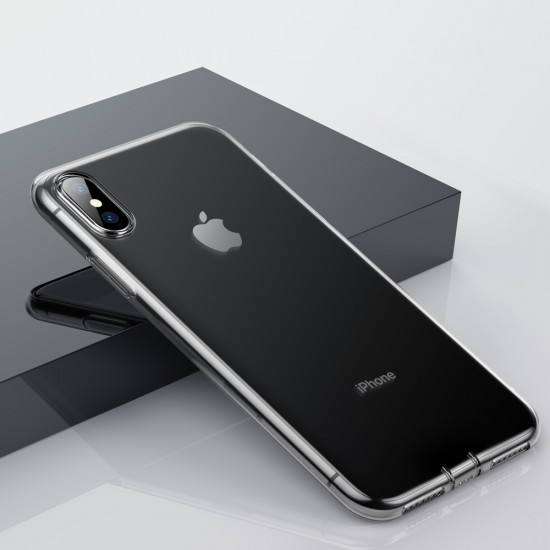 Baseus Simple Series TPU Case for Apple iPhone XS Max - Διάφανη - ARAPIPH65-A02
