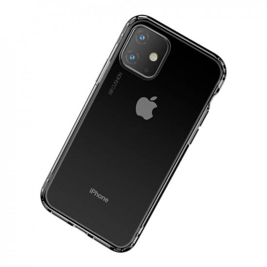 Baseus Apple iPhone 11 Safety Airbags - Θήκη Σιλικόνης - Διάφανη - ARAPIPH61S-SF02