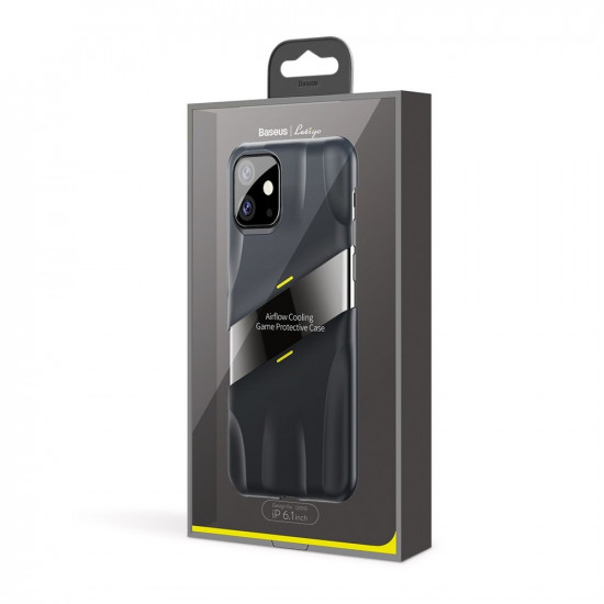 Baseus Apple iPhone 11 Let's go Airflow Cooling Game Σκληρή Θήκη με Σύστημα Ψύξης - Grey - WIAPIPH61S-GMGY