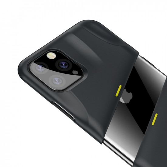 Baseus Apple iPhone 11 Pro Max Let's go Airflow Cooling Game Σκληρή Θήκη με Σύστημα Ψύξης - Grey - WIAPIPH65S-GMGY