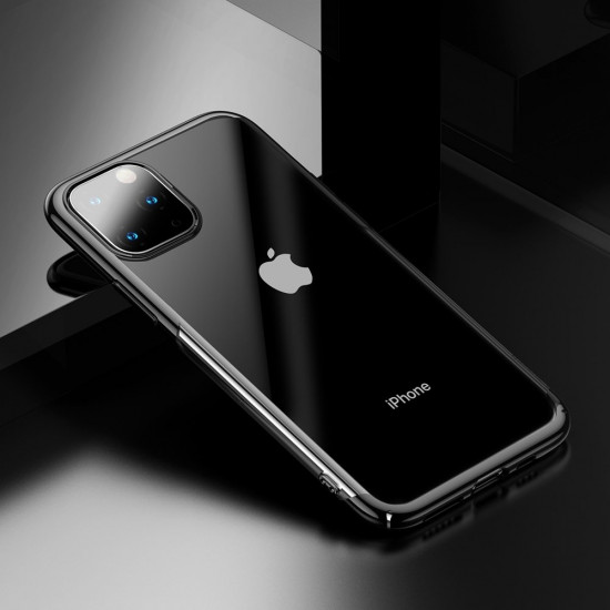 Baseus Glitter Electroplating Σκληρή Θήκη για Apple iPhone 11 Pro - Black - WIAPIPH58S-DW01