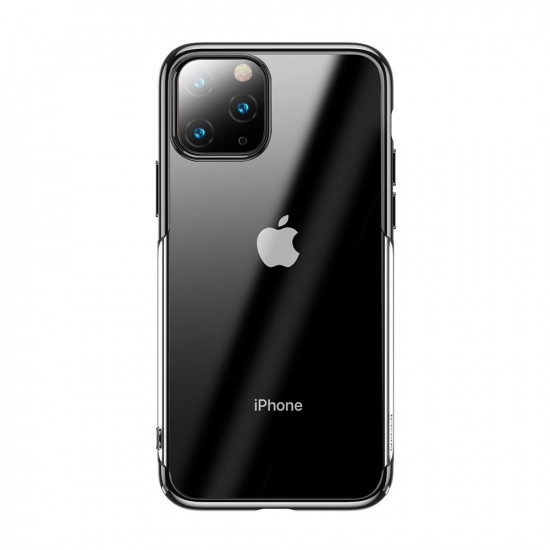 Baseus Glitter Electroplating Σκληρή Θήκη για Apple iPhone 11 Pro Max - Black - WIAPIPH65S-DW01