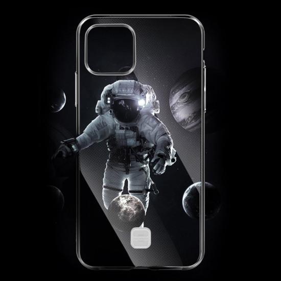 Baseus Apple iPhone 11 Transparent Key Θήκη Σιλικόνης με Λουράκι - Διάφανη - WIAPIPH61S-QA02
