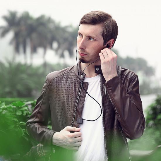 BlitzWolf Ασύρματα Bluetooth Ακουστικά για Smartphone / iPhone - Black - BW-ANC1