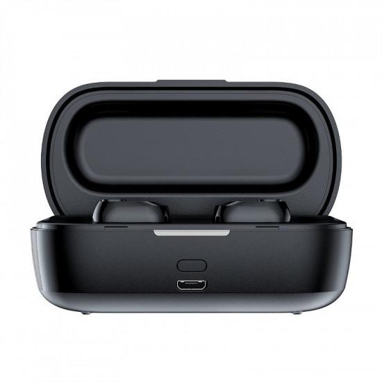 Baseus Encok W01 Truly Wireless Headset - Ασύρματα ακουστικά Bluetooth 5.0 - Black - NGW01-01