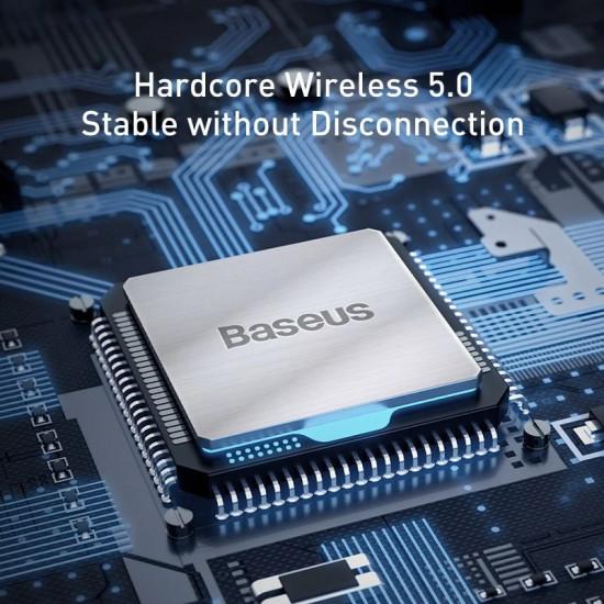 Baseus Streamer F40 FM Transmitter για Αναπαραγωγή Μουσικής / Κλήσεις / Φόρτιση Κινητών στο Αυτοκίνητο - Black - CCF40-01
