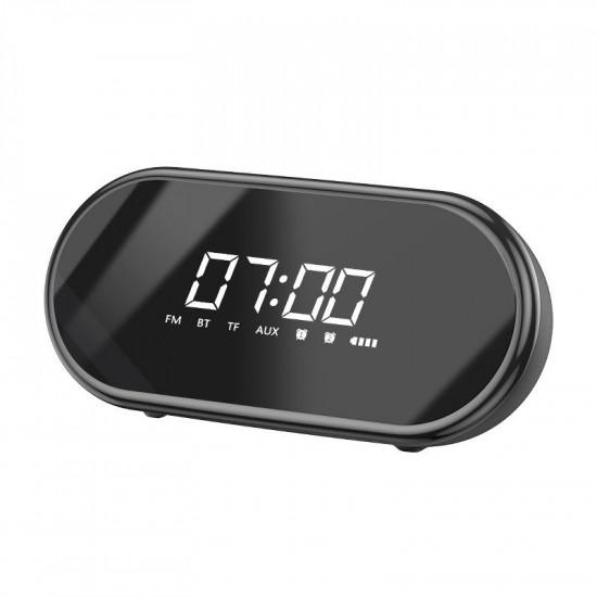 Baseus Encok E09 Ασύρματο Bluetooth Ηχείο / Ξυπνητήρι 6W - Black - NGE09-01