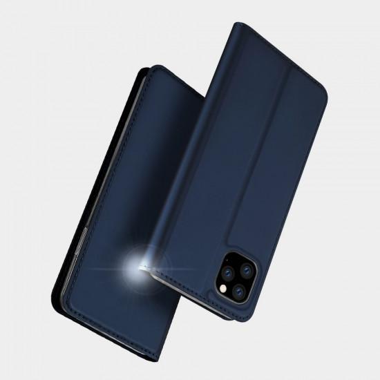 Dux Ducis Apple iPhone 11 Pro Max Flip Stand Case Θήκη Βιβλίο - Blue