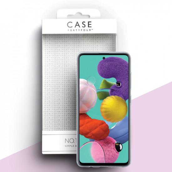 Case FortyFour Samsung Galaxy A51 No.1 Λεπτή Θήκη Σιλικόνης - Διάφανη