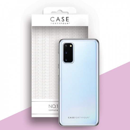 Case FortyFour Samsung Galaxy S20 No.1 Λεπτή Θήκη Σιλικόνης - Διάφανη