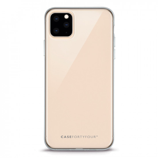Case FortyFour Apple iPhone 11 No.1 Λεπτή Θήκη Σιλικόνης - Διάφανη
