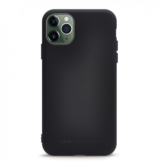 Case FortyFour Apple iPhone 11 Pro No.1 Λεπτή Θήκη Σιλικόνης - Black