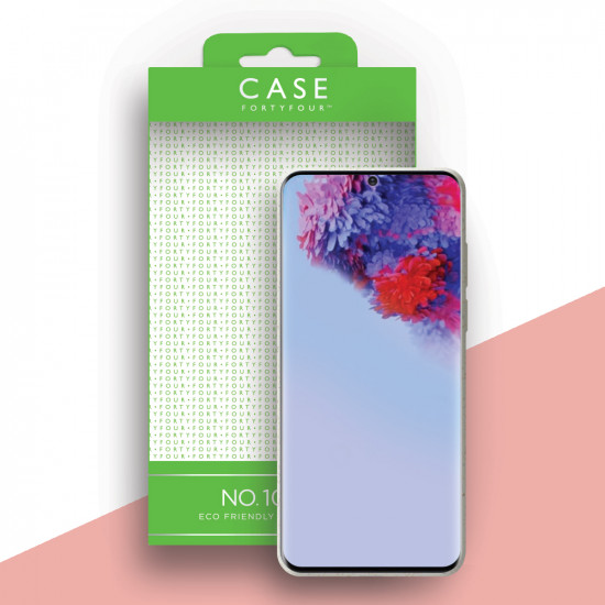 Case FortyFour Samsung Galaxy S20 Plus No.100 Θήκη Σιλικόνης με Ανακυκλώσιμο και Βιοδιασπώμενο Υλικό - White