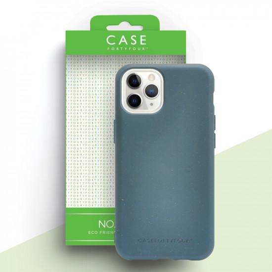 Case FortyFour Apple iPhone 11 Pro No.100 Θήκη Σιλικόνης με Ανακυκλώσιμο και Βιοδιασπώμενο Υλικό - Blue