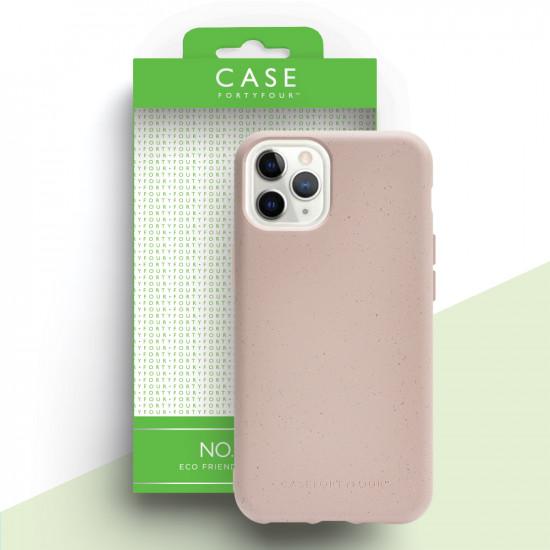 Case FortyFour Apple iPhone 11 Pro No.100 Θήκη Σιλικόνης με Ανακυκλώσιμο και Βιοδιασπώμενο Υλικό - Pink