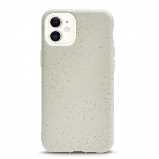 Case FortyFour Apple iPhone 11 No.100 Θήκη Σιλικόνης με Ανακυκλώσιμο και Βιοδιασπώμενο Υλικό - White